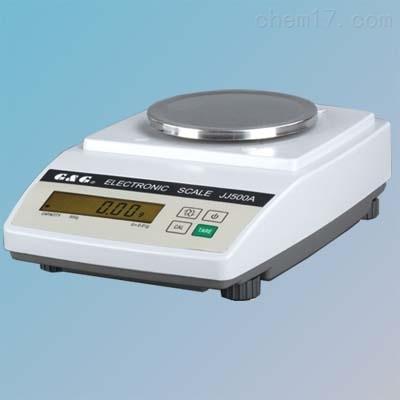 双杰JJ500A百分之一电子天平500g 0.01g