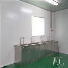日化品车间不锈钢水槽洗手台