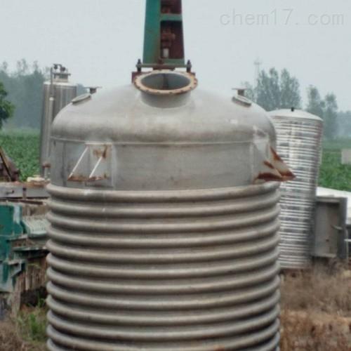 出售5吨二手搪瓷反应釜