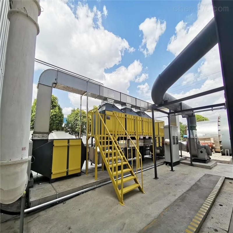 塑料厂环保设备催化燃烧