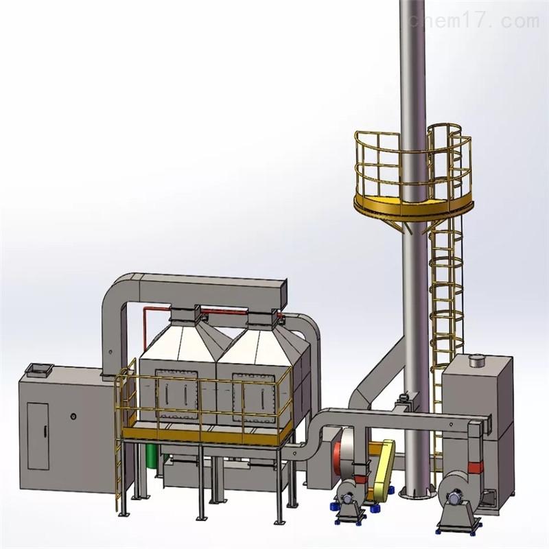 喷漆废气环保设备催化燃烧