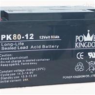 12V80AH三力蓄电池PK80-12现货