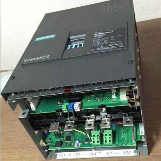 西门子6RA8调速器启动就跳闸十年维修案例