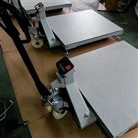 DCS-HT-Y厦门1吨叉车移动式地磅 2T液压叉车平台秤
