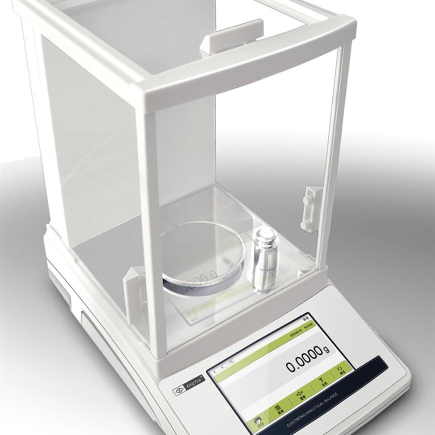 JA-T系列触摸屏内校分析电子天平