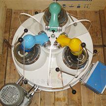 实验室三头研磨机 玛瑙型细磨机