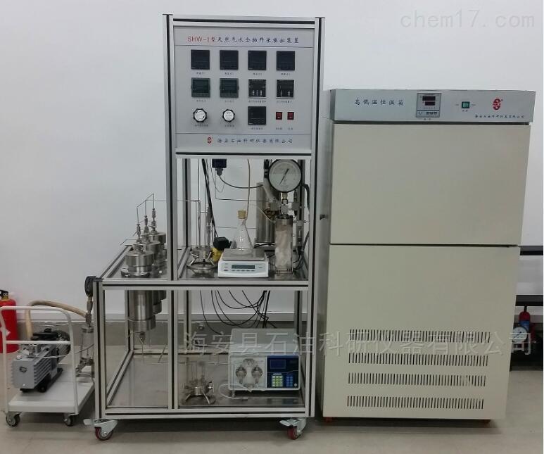 天然气水合物开采模拟装置