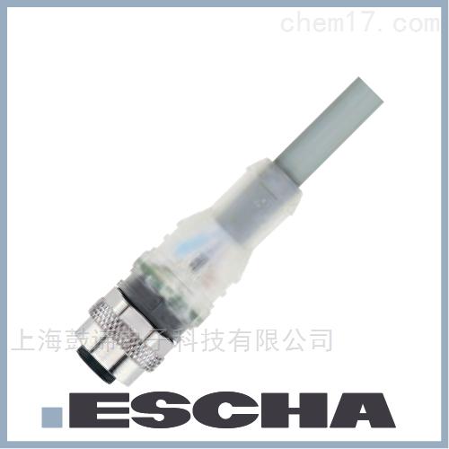 ESCHA延长电缆M12LED