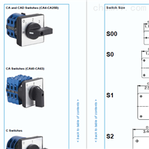 A10 PC3005-1 CA10 A023-62KRAUS NAIMER转换开关