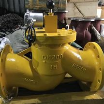 燃气管道常开式电磁紧急切断阀
