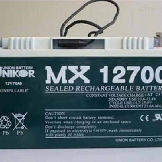 友联蓄电池MX12700区域代理