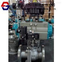 Q641F-16PQ641F气动不锈钢球阀