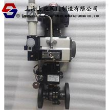 ZSHR-16C/P气动O型切断阀