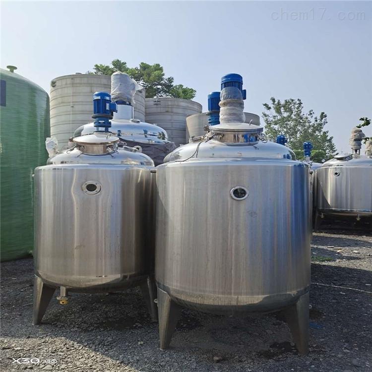 本厂便宜处理一批二手不锈钢搅拌罐
