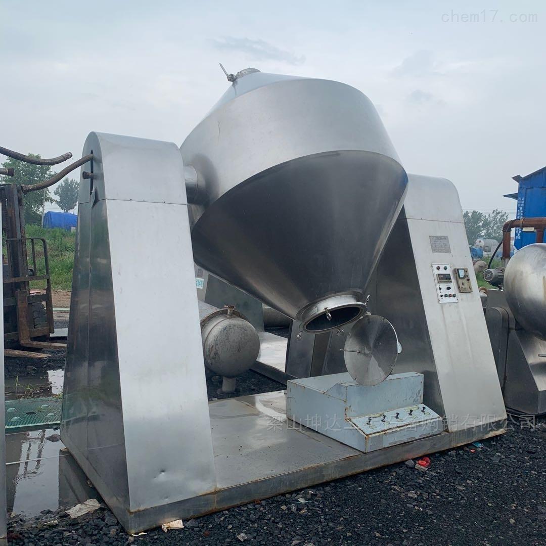 厂家直销二手双锥干燥机 不锈钢或搪瓷
