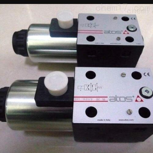 意大利ATOS的原装电磁阀操作步骤