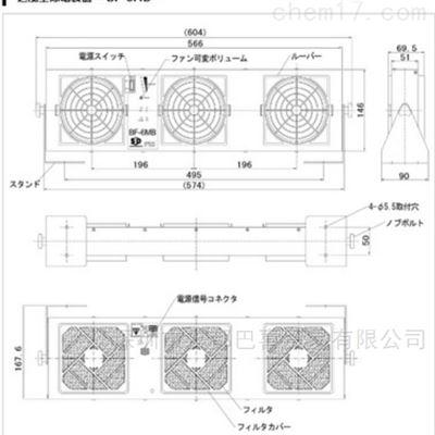 代理日本西西蒂SSD离子风机BF-6MB
