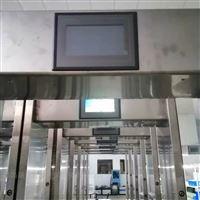 青岛自产门式红外热成像测温仪
