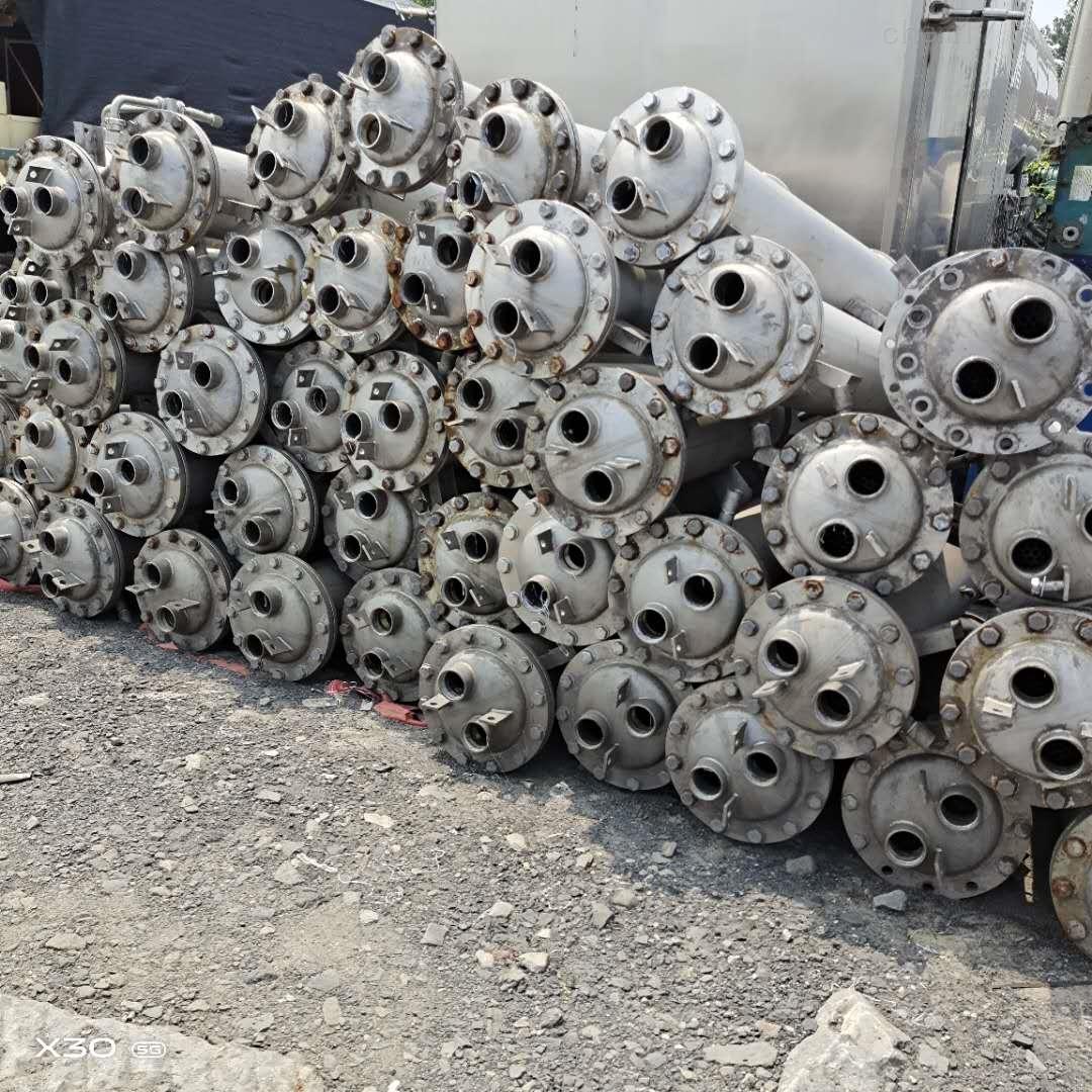 供应二手不锈钢螺旋管冷凝器