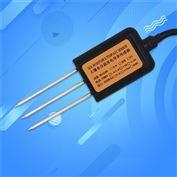 485型土壤温度水分三合一电导率变送器