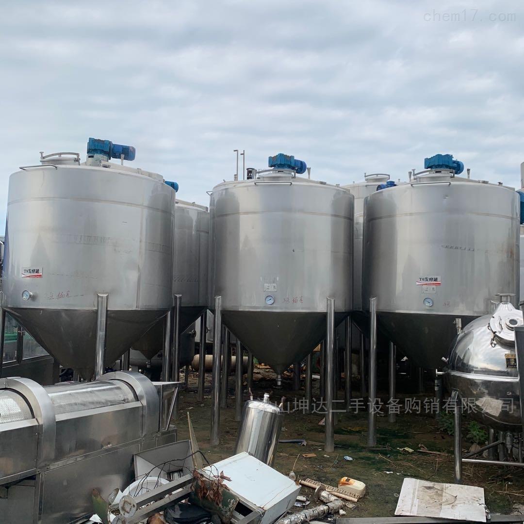 二手乳酸菌发酵缸 不锈钢发酵罐