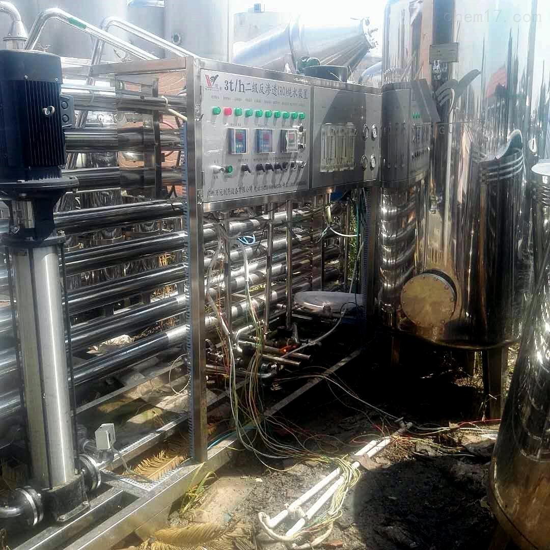 转让全套2t/h双级反渗透水处理设备