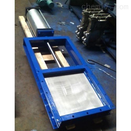 气动方形插板阀