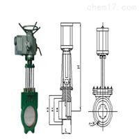 Z973X電動漿液閥規格