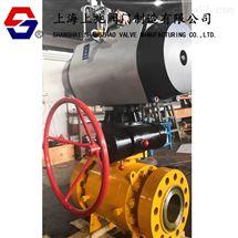 SZQ647F-1500LB气动高压锻钢球阀|气动球阀|高压球阀