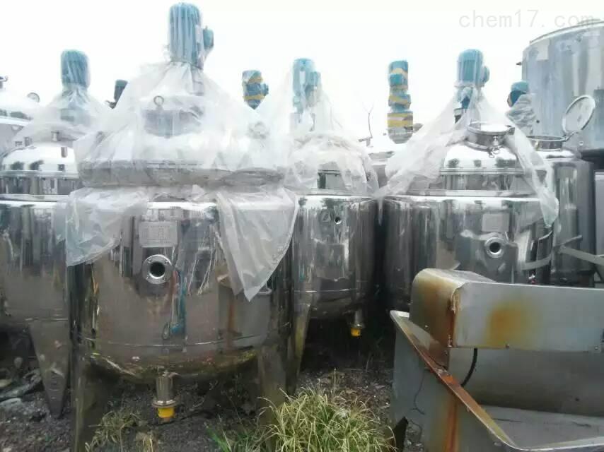 轉讓二手化工機械設備不銹鋼儲罐壓力容器儲罐