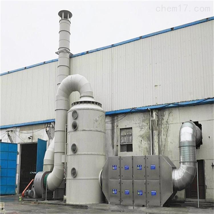 喷漆房油漆废气净化装置催化燃烧处理工艺