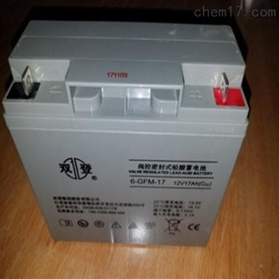 6-GFM-150双登铅酸免维护蓄电池12V150AH