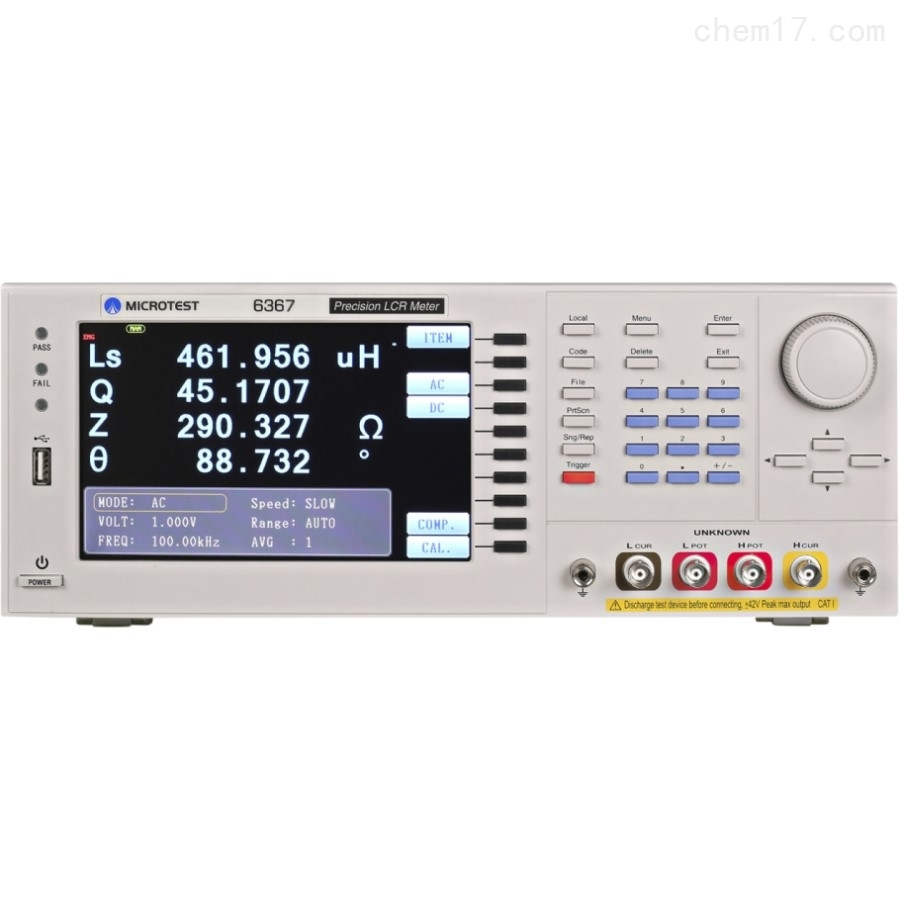 益和MICROTEST6367经济型LCR测试仪