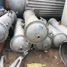 二手高压不锈钢冷凝器二手设备厂