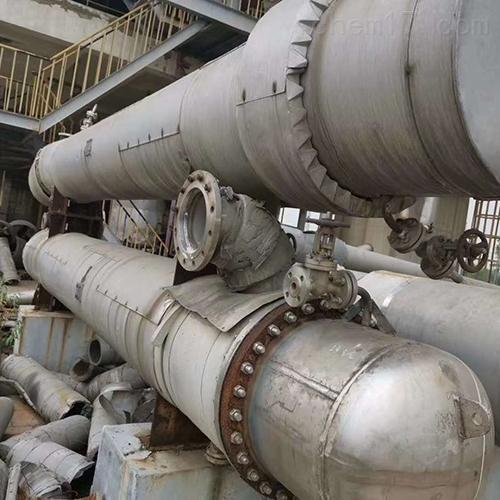 现货出售二手钛材质冷凝器山东厂家供应