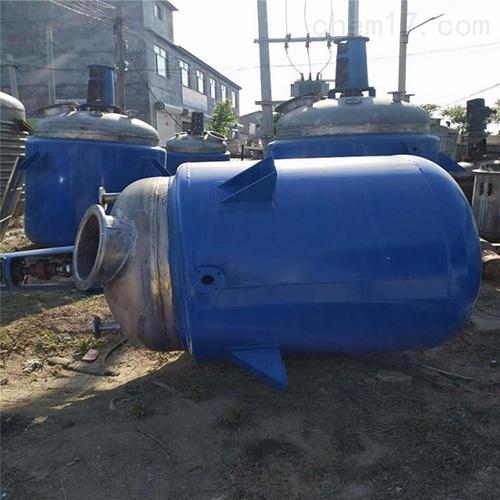 二手12吨不锈钢反应釜八成新