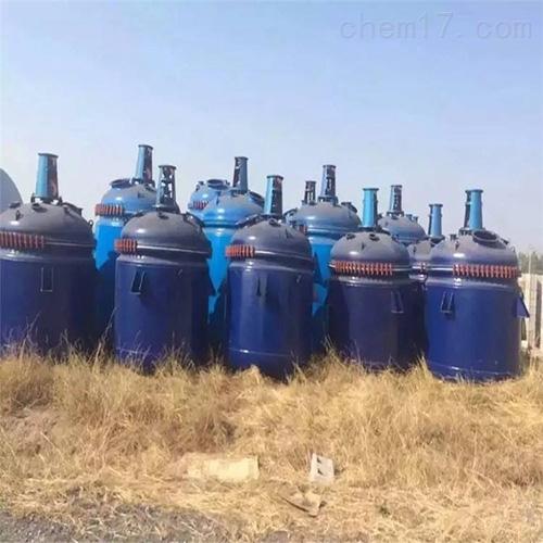 316不锈钢8吨二手反应釜回收多种型号