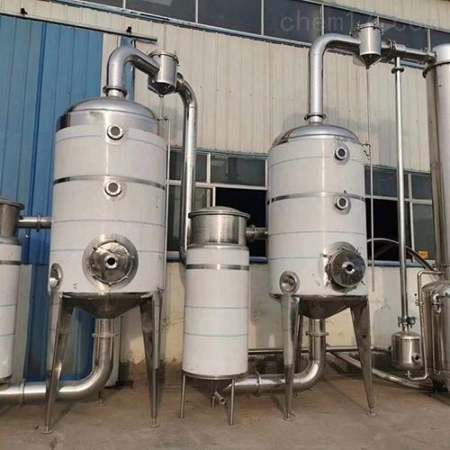 二手双效降膜钛材蒸发器
