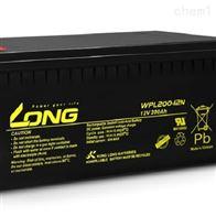 12V200AHLONG广隆蓄电池WPL200-12N原装