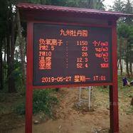 JYB-FY珠三角地區旅遊景點負氧離子環境監測係統