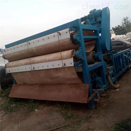 河道淤泥二手带式压滤机优惠出售
