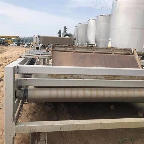 连续式污泥深度脱水压滤机山东厂家供应