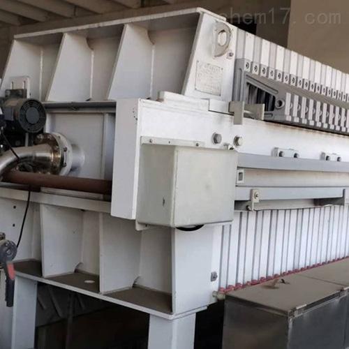 出售多台二手隔膜式压滤机回收多种型号