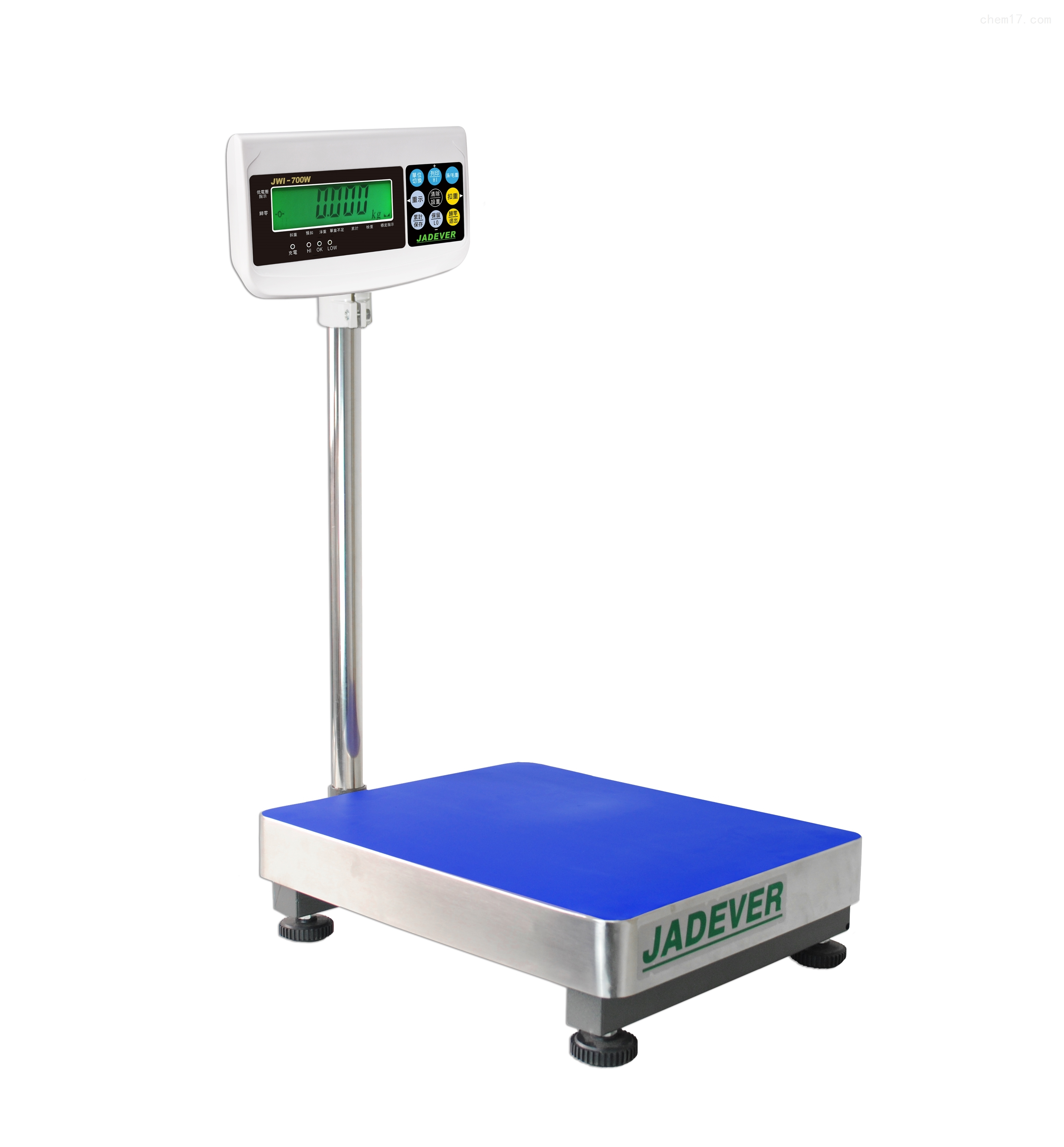 钰恒电子台秤JWI-700W-60kg/100kg/150kg