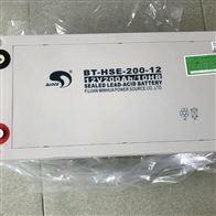 12V200AH赛特蓄电池BT-HSE-200-12全国联保