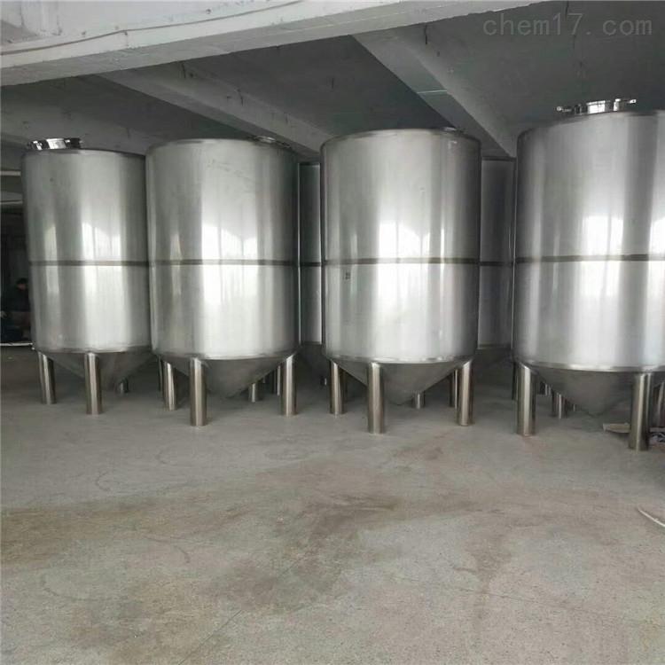 二手30吨立式不锈钢储罐