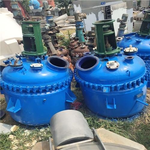 回收二手搪瓷反应釜厂家