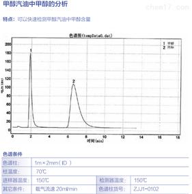 甲醇汽油中甲醇的分析