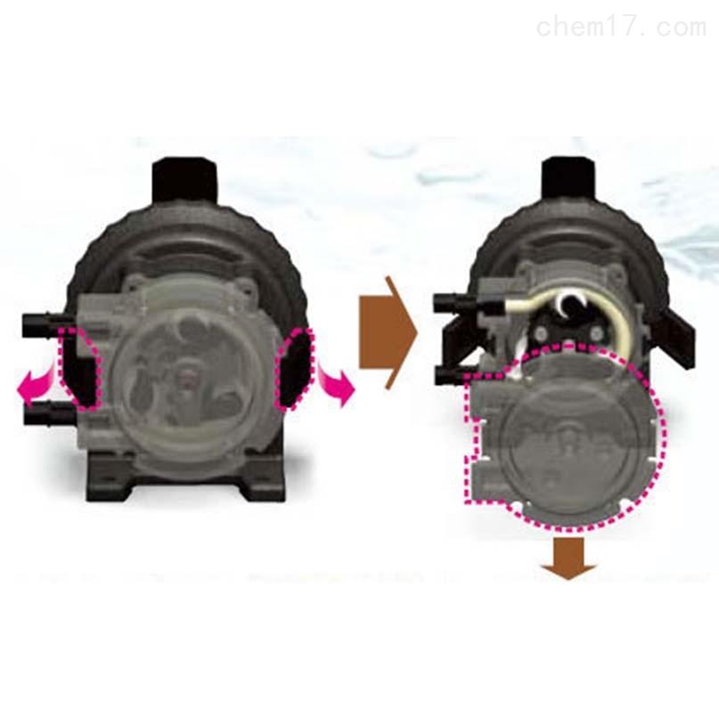 日本elepon小型管泵/软管泵完全自吸式