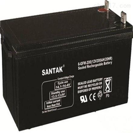山特铅酸免维护阀控式蓄电池12V200AH